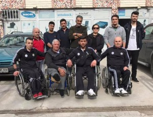 Sorgun engelliler spor kulübü ziyaretimize gelmiş teşekkür ederiz